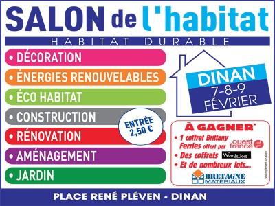 Salon de l'habitat DINAN – 06 au 08 Février